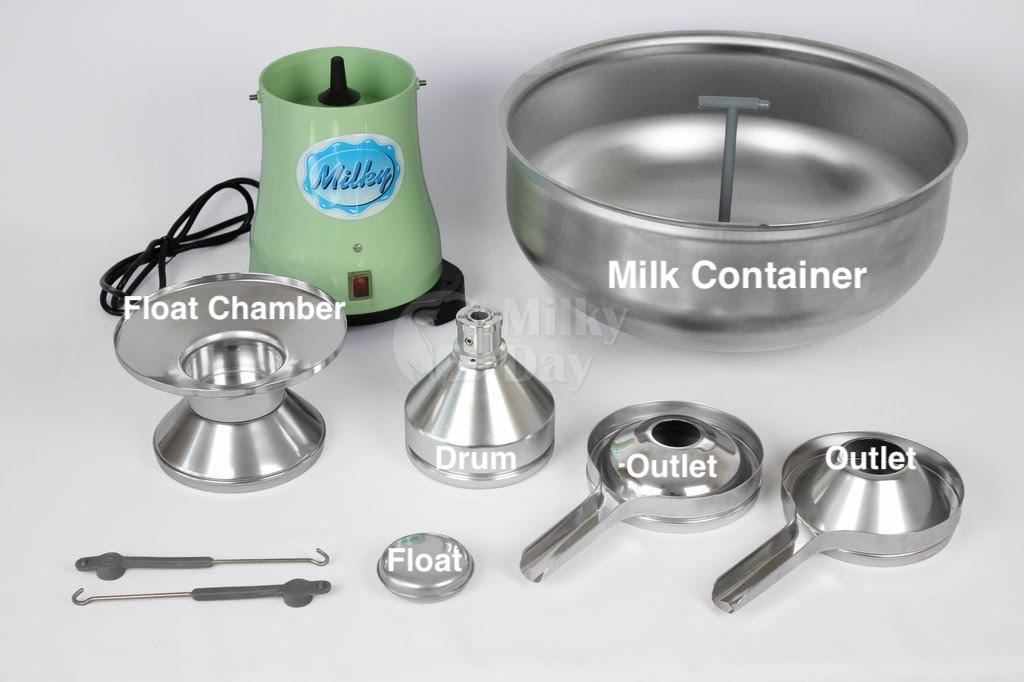 parts of Cream separator Milky FJ 130 ERR