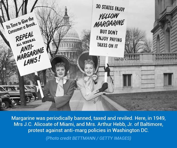 Protest Against Margarine