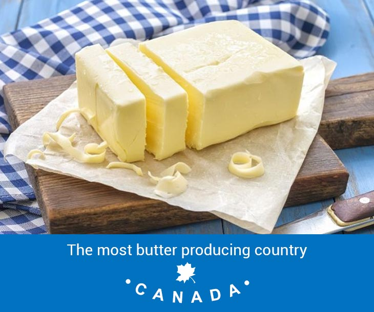 most butter producing country