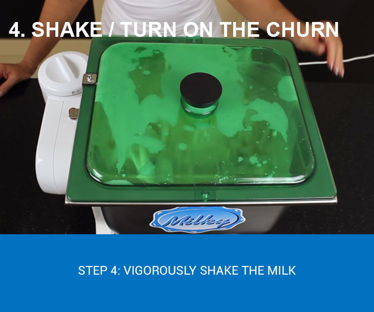 turn on the churn
