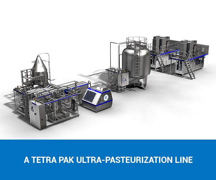 How does milk get ultra-pasteurized?