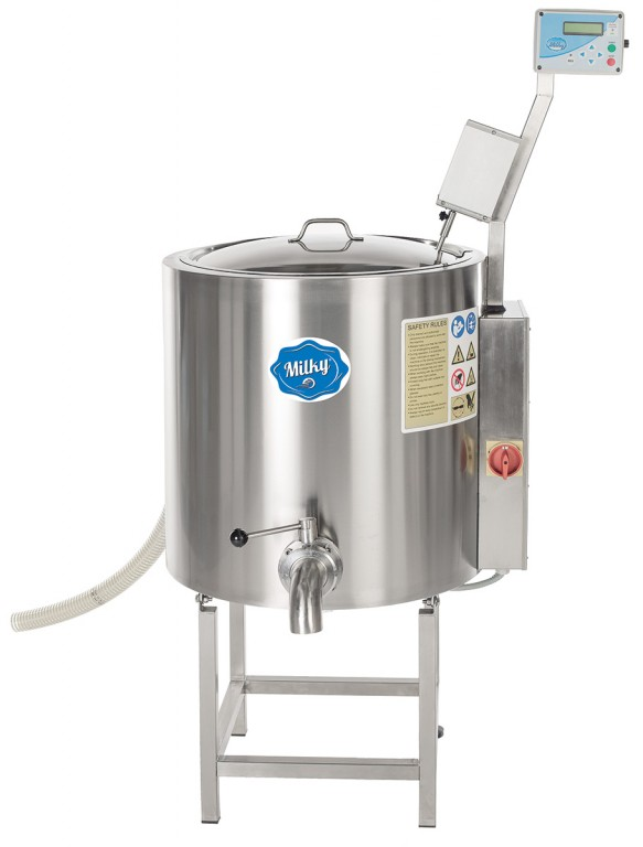 Pasteurizer, cheese and yogurt kettle Milky FJ 100 PF